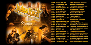 JUDAS PRIEST ANNOUNCES '50 HEAVY METAL YEARS' TOUR 2020