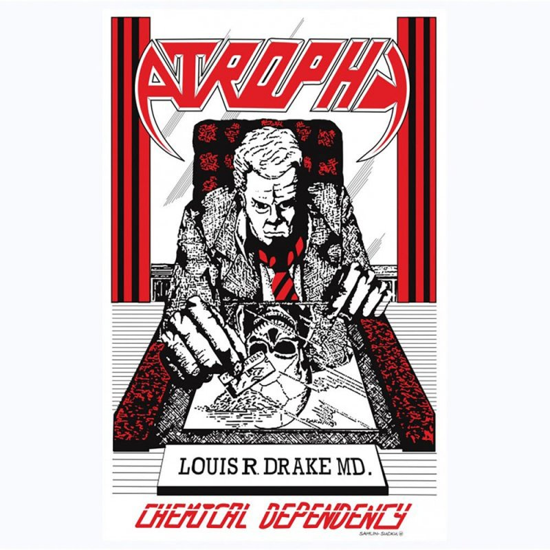 """ATROPHY """"CHEMICAL DEPENDENCY"""" RELEASED DIGITALLY THROUGH SUBLEVEL RECORDS"""
