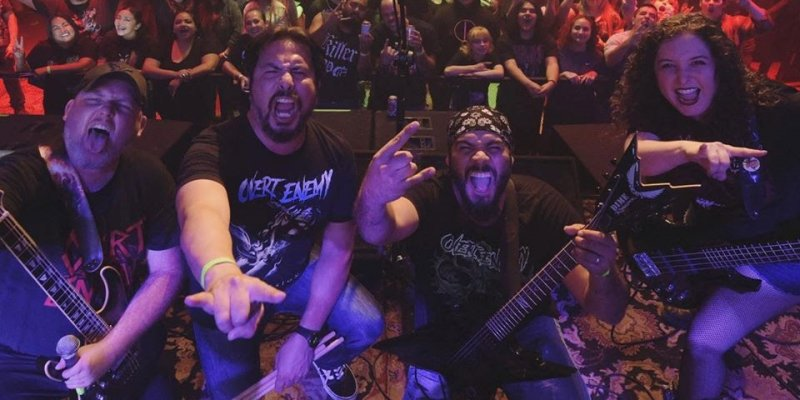 """Overt Enemy release video for """"Blood God"""""""