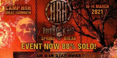 HARD ROCK HELL SPRING BREAK ANNOUNCES FIRST 50 BANDS - KINGDOM COME, DREAM EVIL, CRASHDIET, TANK, TYGERS OF PAN TANG, VARDIS