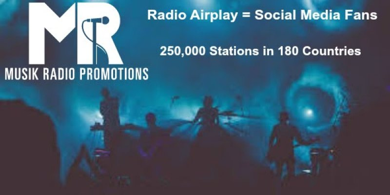 Your music on Radio. 180 countries. 250,000 stations.