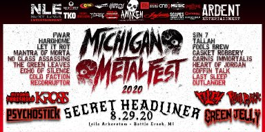 Michigan Metal Fest 2020 Lineup Revealed!