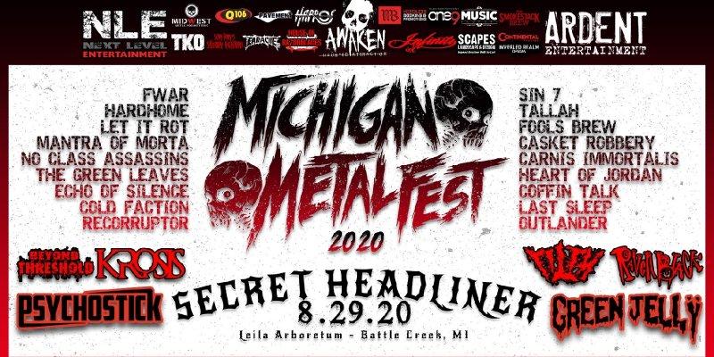 Michigan Metal Fest 2020 Lineup Revealed!