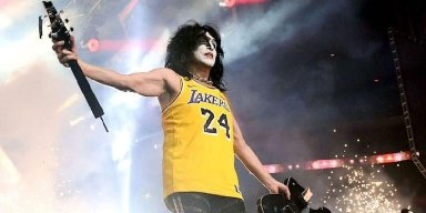 KISS PAYS TRIBUTE TO KOBE