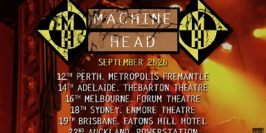 Machine Head Australia / New Zealand Tour Dates Announced!!
