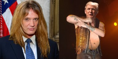 SEBASTIAN BACH VS DONALD TRUMP 'Our Reality TV Show Host Leader Is A Petulant Little Baby Who Doesn't Believe In Science'