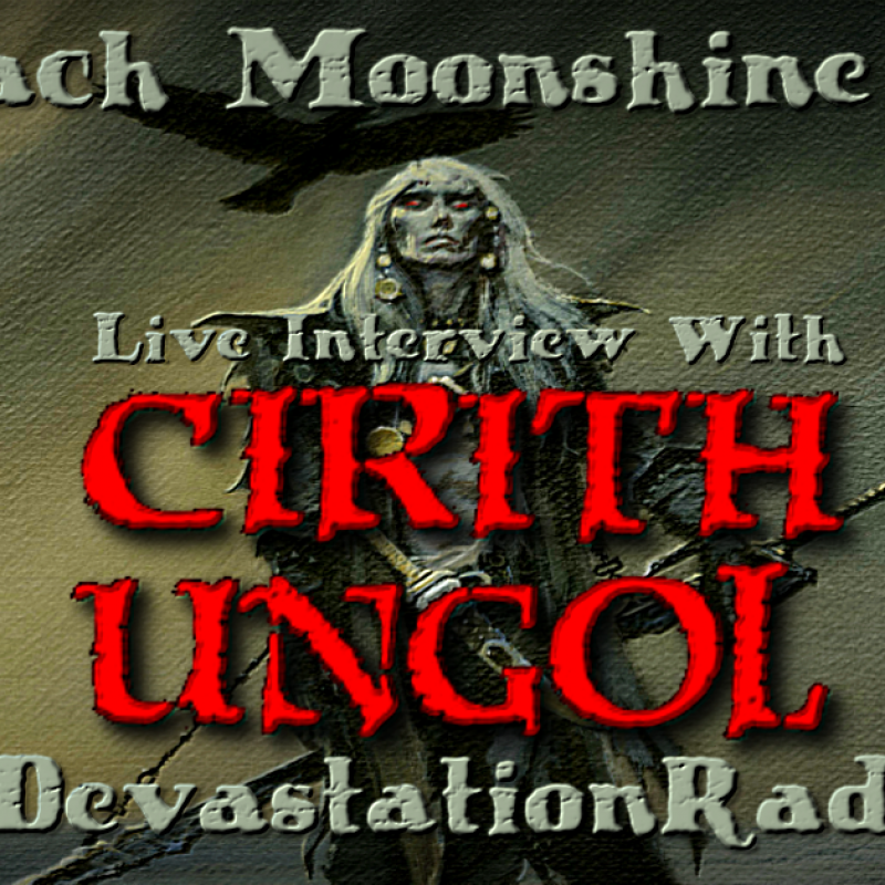 Jarvis from Cirith Ungol will be live on The Zach Moonshine Show, Friday Night!