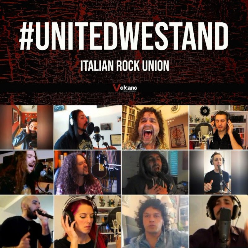 #UNITEDWESTAND - Italian Rock And Metal Artists Against Covid-19, Feat. Members Of RHAPSODY OF FIRE, DGM, TIGERS OF PAN TANG, EXTREMA And More