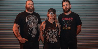 "DOOM METAL TRIO - WITCHKISS RELEASE FIRST SINGLE - ""SPLITTING TEETH"" FROM THEIR BRAND NEW UPCOMING EP!"