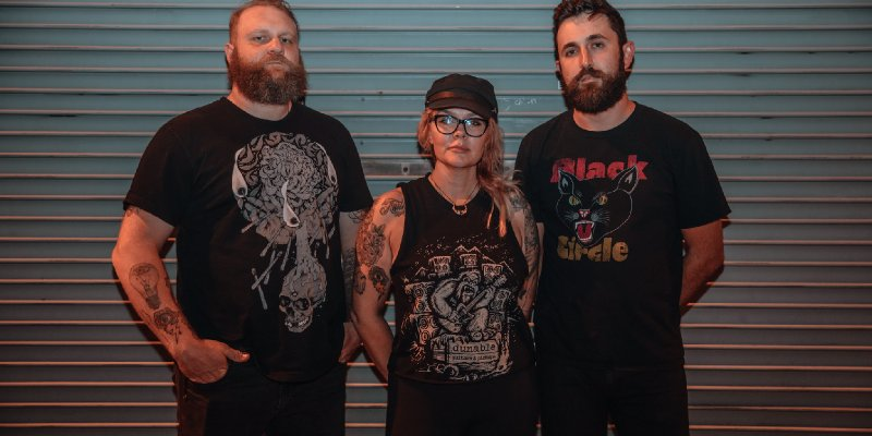 """DOOM METAL TRIO - WITCHKISS RELEASE FIRST SINGLE - """"SPLITTING TEETH"""" FROM THEIR BRAND NEW UPCOMING EP!"""