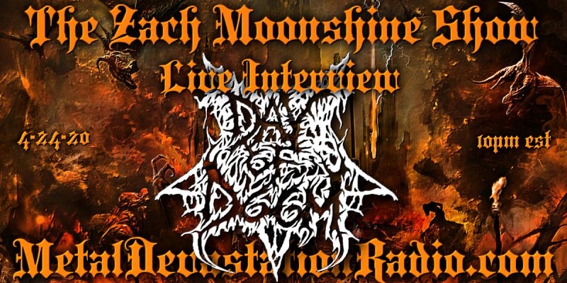 Day Of Doom Will Be Joining The Zach Moonshine Show 4-24-20