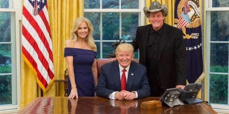 NUGENT GIVES TRUMP A+ AS PRESIDENT
