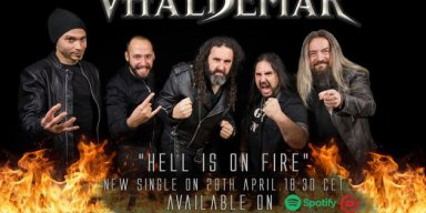 "Vhäldemar: Listen to ""Hell Is On Fire"", the first single advance from the new album ""Straight To Hell"""