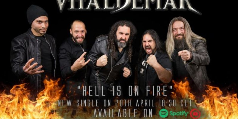 """Vhäldemar: Listen to """"Hell Is On Fire"""", the first single advance from the new album """"Straight To Hell"""""""