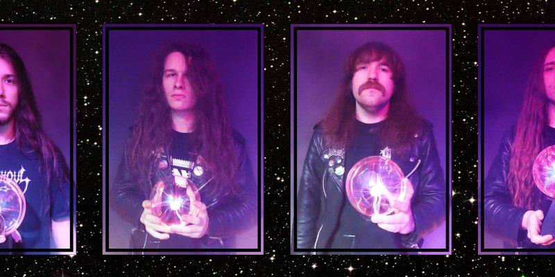 "CRYPTIC SHIFT stream BLOOD HARVEST debut at ""Metal Hammer"" UK's website"