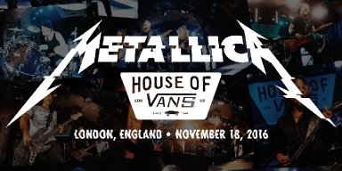 #MetallicaMondays LIVE AT HOUSE OF VANS FOR FREE TONIGHT AT 5 PM PDT / 8 PM EDT