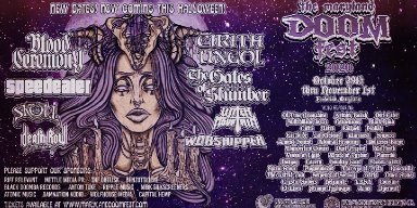 MARYLAND DOOM FEST 2020 Rescheduled OCT. 29 - NOV. 01 - Halloween Weekend; Cirith Ungol, Blood Ceremony, Speedealer, The Gates Of Slumber + More!