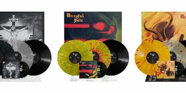 Mercyful Fate: 'Don't Break the Oath', 'Melissa', 'Mercyful Fate' re-issues now available via Metal Blade Records