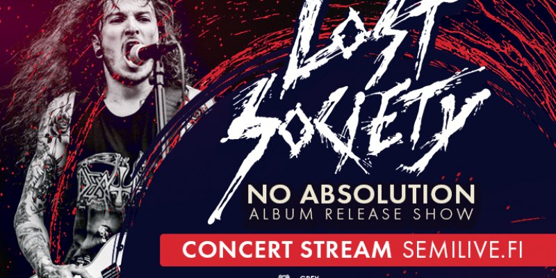 Lost Society - No Absolution Album Release Show at semilive.fi