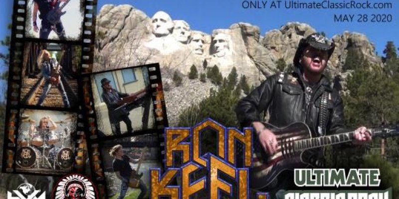 Red White & Blue by Ron Keel Band to premiere on Ultimate Classic Rock