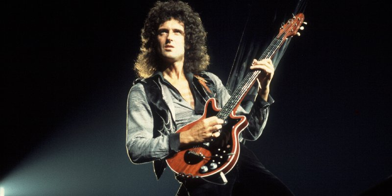 BRIAN MAY Named Greatest Guitarist Of All Time By TOTAL GUITAR Magazine