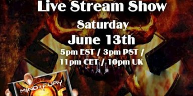 MIND OF FURY: Full Live Stream Show This Coming Saturday, June 13th 2020