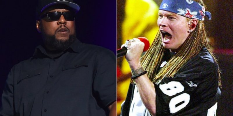 N.W.A. Remembers Axl Rose Rapping!