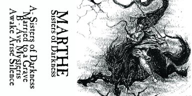 CALIGARI RECORDS is proud to present MARTHE's striking debut EP, Sisters of Darkness, on cassette tape format.