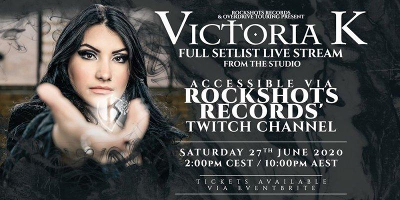 VICTORIA K: free live stream show on Twitch