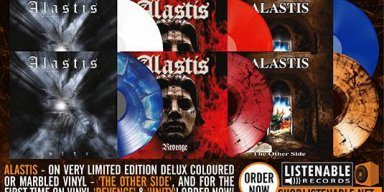 Legendary Swiss Black Heavy Metal act  : ALASTIS ' Exclusive Limited Edition Vinyls Finally Available!
