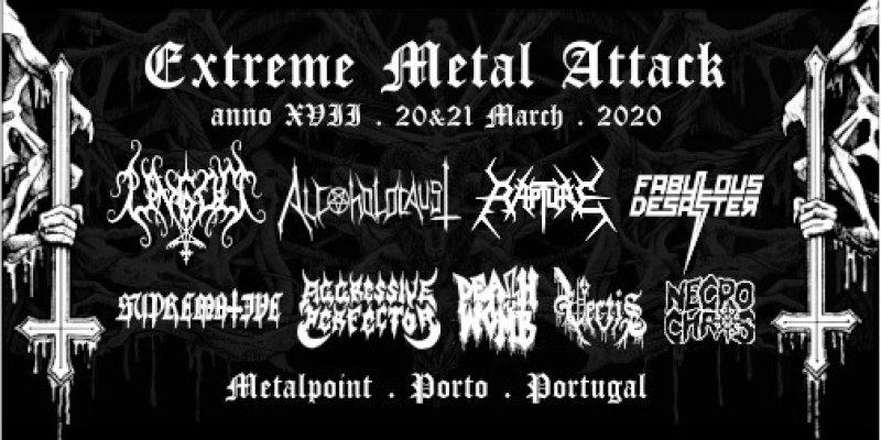 ADIADO-Extreme Metal Attack Festival XVII, 2020