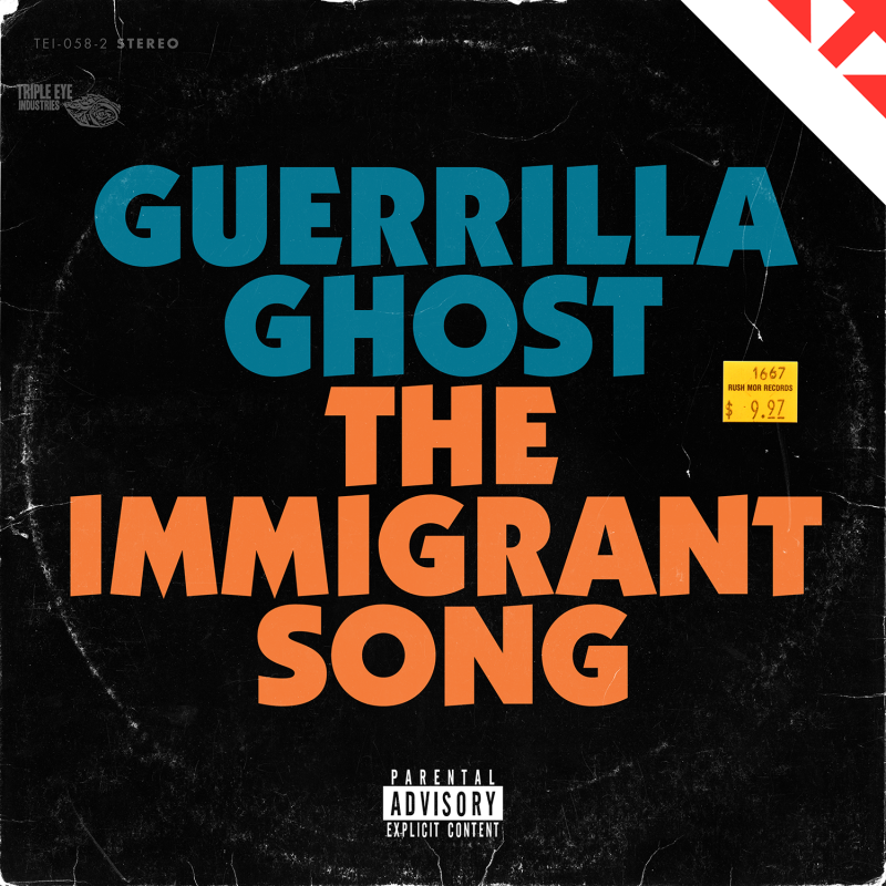 GUERRILLA GHOST RELEASE BRAND NEW SINGLE - 'THE IMMIGRANT SONG'