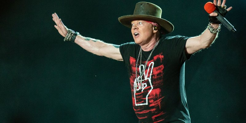 AXL DEFENDS HIS RIGHT TO SPEAK OUT