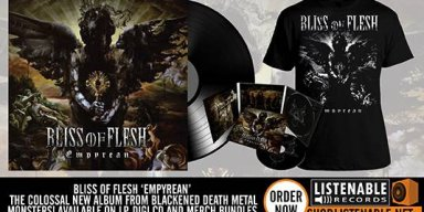 BLISS OF FLESH UNVEIL NEW ALBUM COVER ARTWORK!