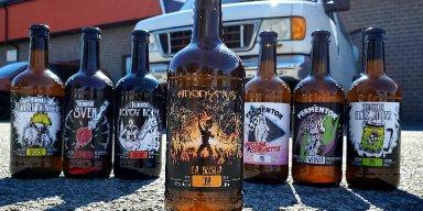 "Canadian Thrash Legends ANONYMUS Launch Beer ""La Bestia"""