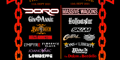 Doro Pesch and Massive Wagons headline RTB2021