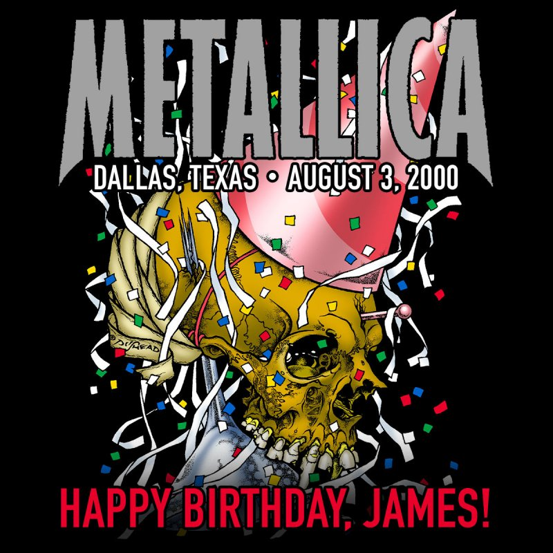CELEBRATE JAMES' BIRTHDAY WITH #METALLICAMONDAYS TONIGHT AT 5 PM PDT / 8 PM EDT