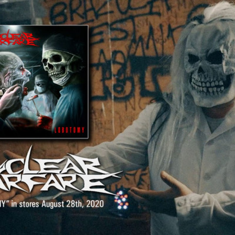 """NUCLEAR WARFARE releases new video for """"Lobotomy"""""""