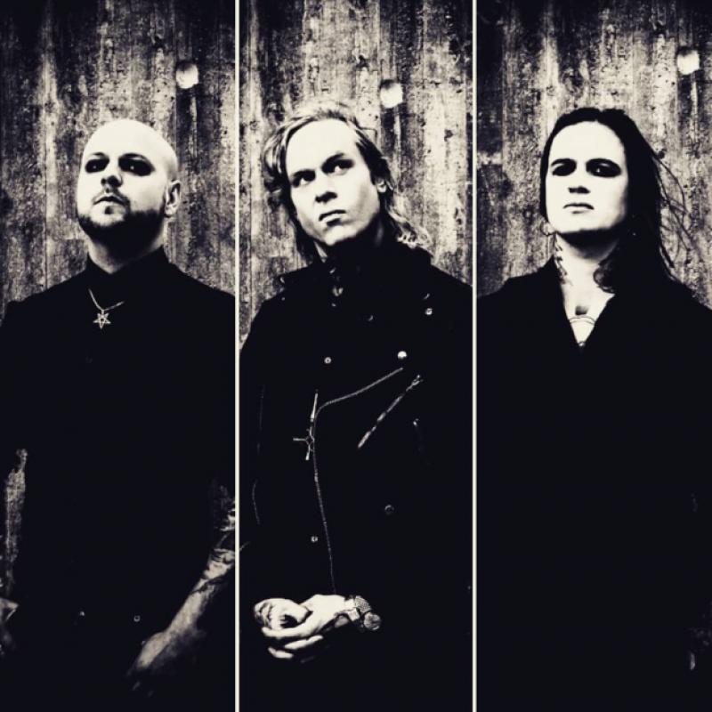 Black 'n' Roll Death Sludge trio THE VICE premieres fierce music video from brand new album!
