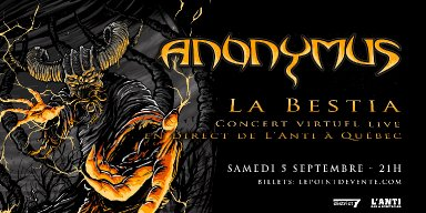 """Canadian Thrash Legends ANONYMUS Descend Into Insanity With Music Video """"Bicho Loco"""""""