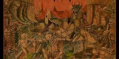 Back from the Swedish Sewers: REPUKED Return October 9 with 'Dawn of Reintoxication' on Soulseller Records