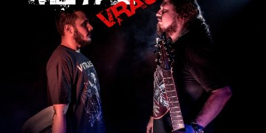 METAL VRAU promoting material by the band VENOMOUS