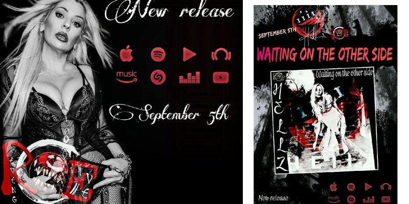 Hellz - News Single 'Waiting On the Other Side' - Streaming At Mayhem Radio!
