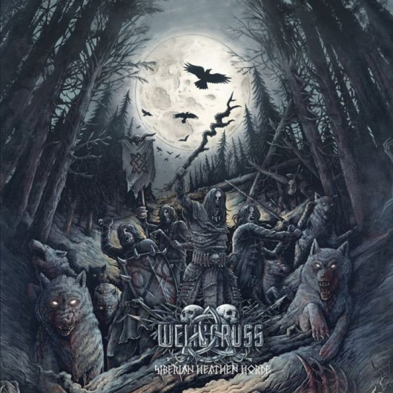 WELICORUSS - Siberian Heathen Horde - Streaming On Metal Fury Show #68 - Black Metal Harvest!