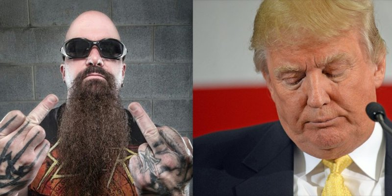 SLAYER's KERRY KING Watches CNN 'Just To See What Idiocy' DONALD TRUMP Said That Day