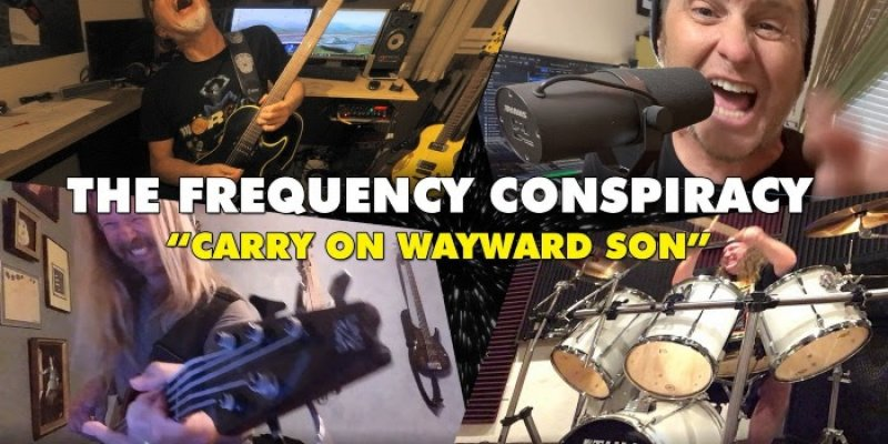 THE FREQUENCY CONSPIRACY - Ft. Members of Last in Line, Tyketto, 24-7 Spyz and Mörglbl - Release Cover Video For KANSAS' 'Carry on Wayward Son'