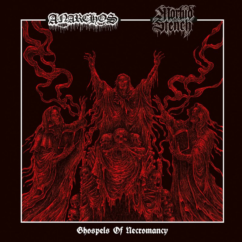 ANARCHOS / MORBID STENCH: new promo materials from BLOOD HARVEST