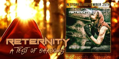 """Reternity - """"A Test Of Shadows"""" Black Sunset   Release: 25/09/2020"""
