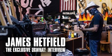 James Hetfield Chats With So What!