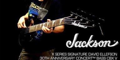 ALBERTO RIGONI Releases Video Review Of Jackson David Ellefson Signature Bass!